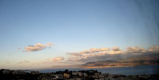 Evening Over the Straits of Messina