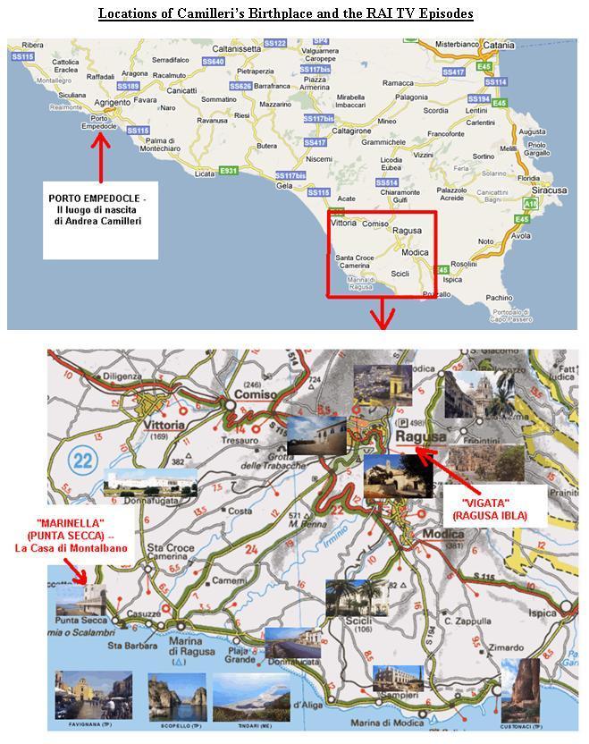 Camilieri Locations
