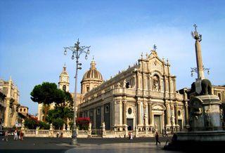 Catania - Duomo e Liotru - the Elephant