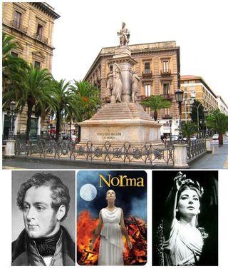 Bellini Statue - Norma