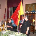Trinacria Flag at Birthday Celebration at Palazzo Aiutamichristo - Palermo