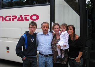 Carmello, Enzo, Maria, Asia and Clarissa di Prima