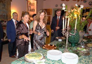 Dinner at the Palazzo Ajutamichristo