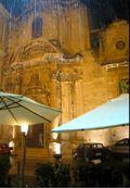 Rain at Vito & Vitello Restaurant - Siracusa